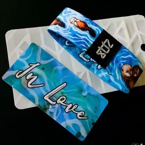 ZOX Strap Wristband- In Love * Otters with Babies